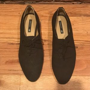 Genuine leather h&m Oxford shoes